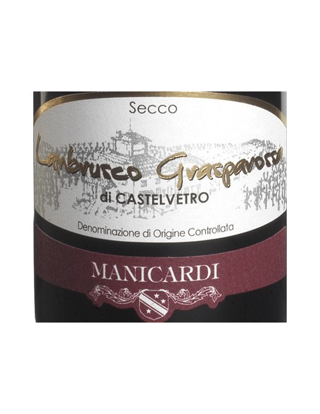Lambrusco Grasparossa - Manicardi
