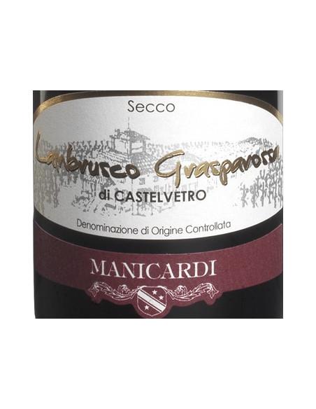 € 6,99 Lambrusco Grasparossa - Manicardi (x6 bott.)