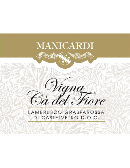 Lambrusco Grasparossa Manicardi Ca Del Fiore