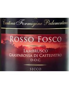 € 4,50 Rosso Fosco Grasparossa secco - Formigine (x6 bott)
