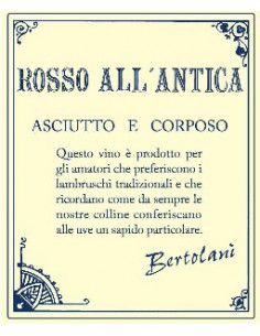 € 6.65 (x6) Rosso All'Antica Lambrusco - Bertolani