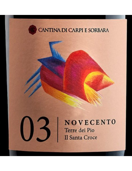 € 5,99 (x6) Terre dei Pio - Lamb. Salamino Santa Croce - Cantina Carpi