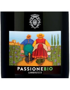 €4.99 (x6) Passione - Lambrusco Biologico Cant. Formigine
