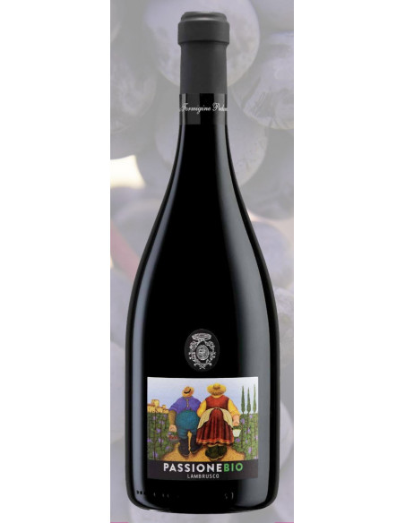 €4.99 (x6)  Passione - Lambrusco Biologico Cant. Formigine