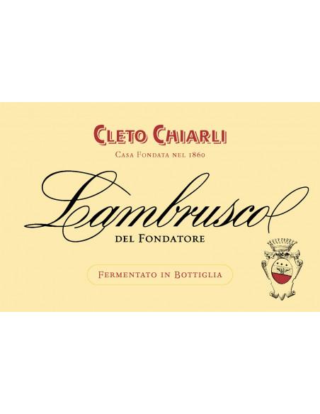 € 8,30 (x6) Il Fondatore - Chiarli Lambrusco