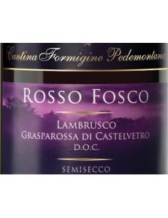 € 4,50 Rosso Fosco semisecco - Formigine P. (x6 bott.)