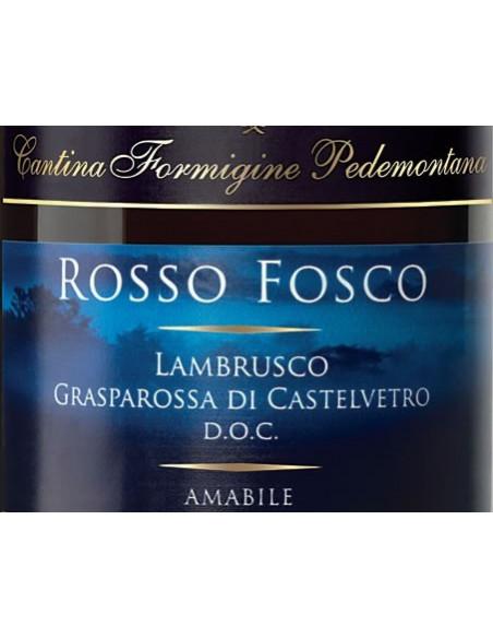 € 4,50 Rosso Fosco - lambrusco amabile Formigine (x6 bott.)